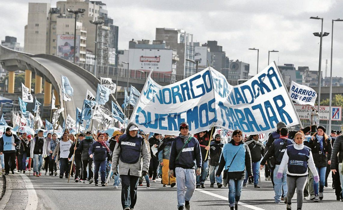 dBarrios de Pie participará de la protesta.