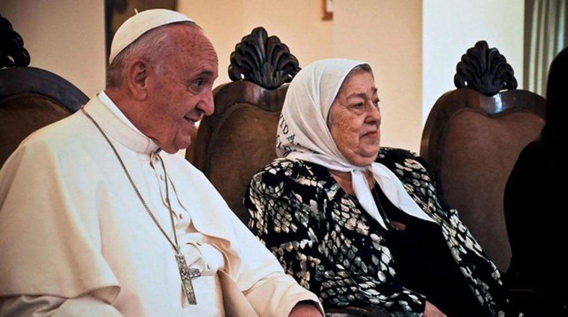 La carta del Papa a Hebe de Bonafini: No hay que tener miedo a las calumnias
