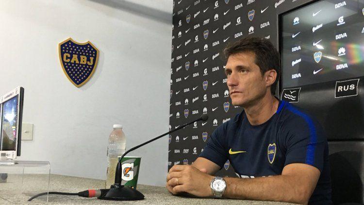 Guillermo Barros Schelotto - Prensa Boca.