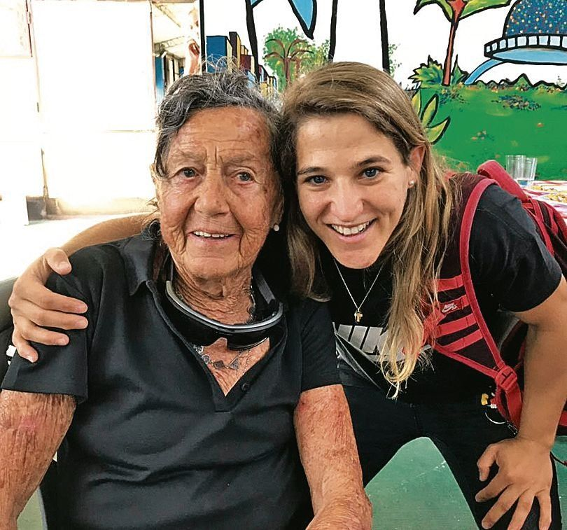 Con 83 años intentará escalar el Aconcagua