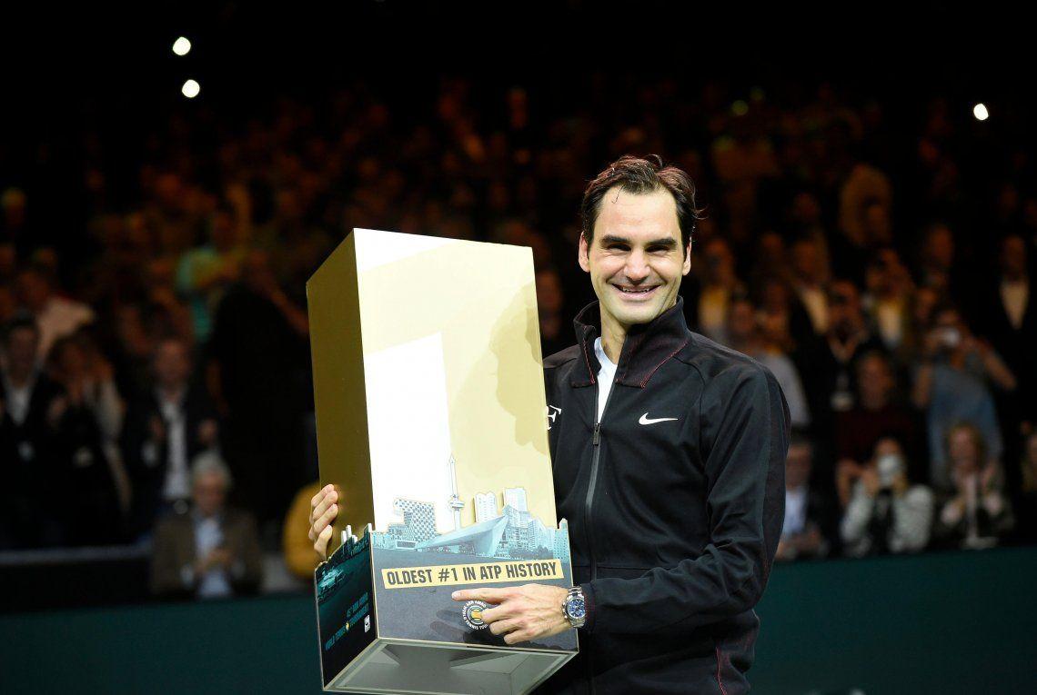 Roger Federer ganó Rotterdam y vuelve a ser el número uno del mundo