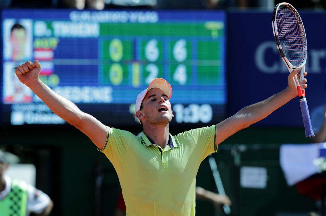 Dominic Thiem se quedó otra vez con el ATP de Buenos Aires