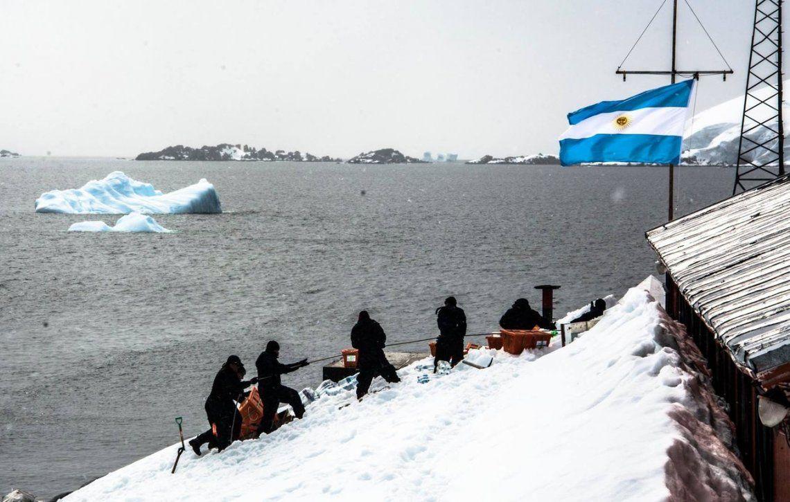 Historia del sector Antártico Argentino