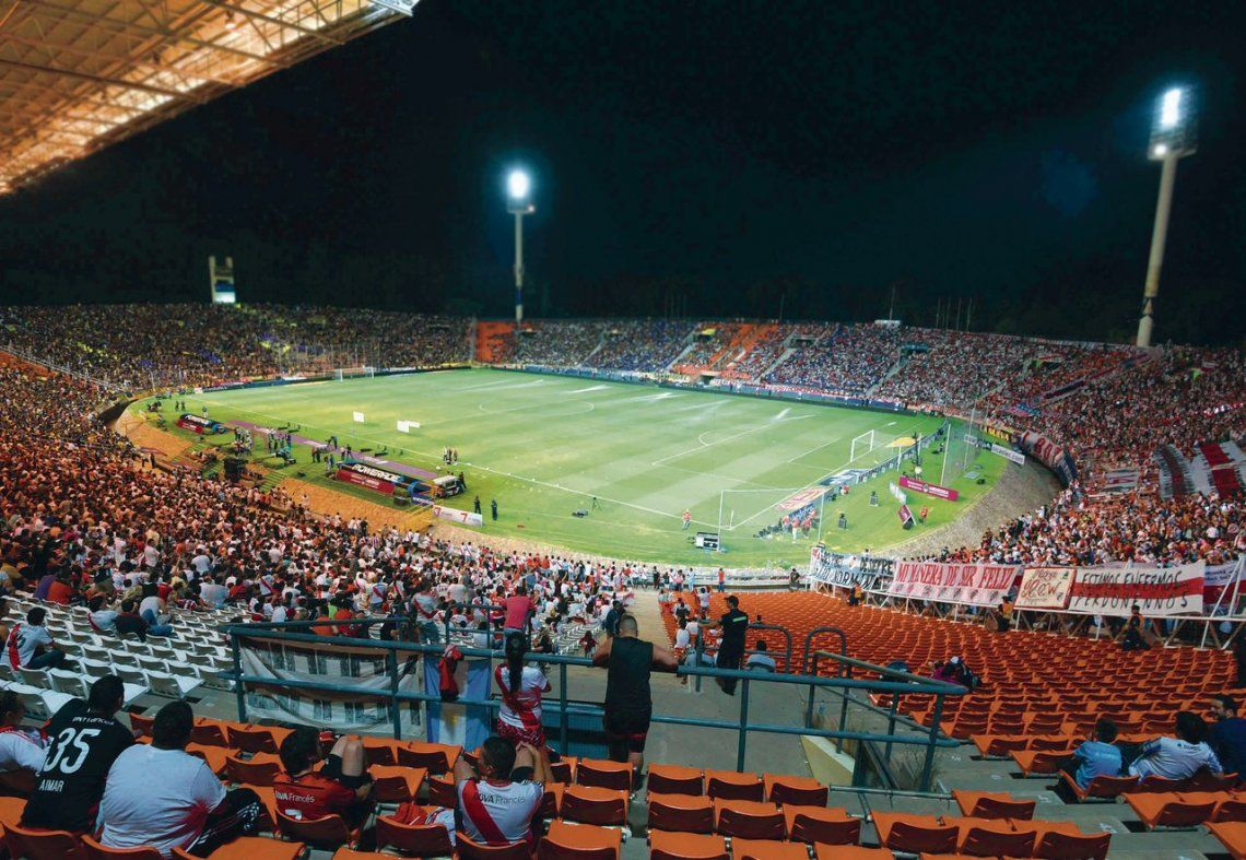 dEl estadio Malvinas Argentinas de Mendoza será escenario del Superclásico que definirá un título en partido único