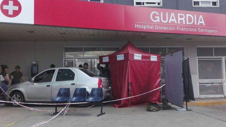 Hospital Santojanni: un delincuente muerto tras tirotearse con la policía