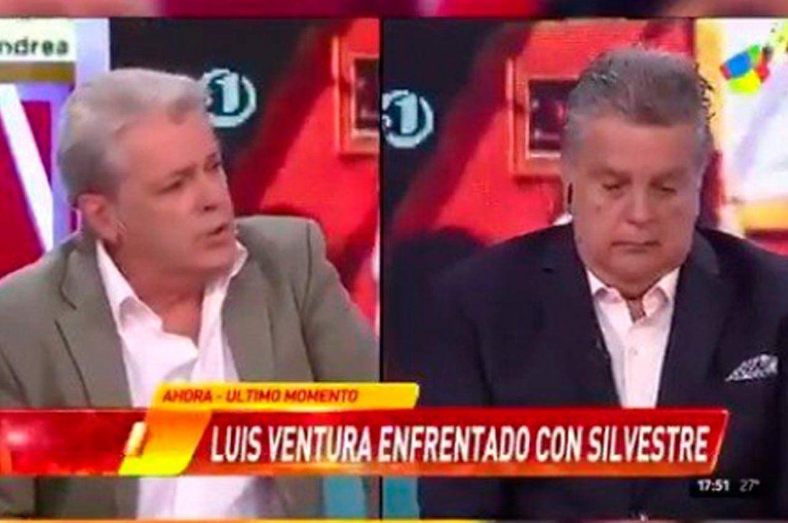 Silvestre sólo cantó la canción del escándalo con Ventura