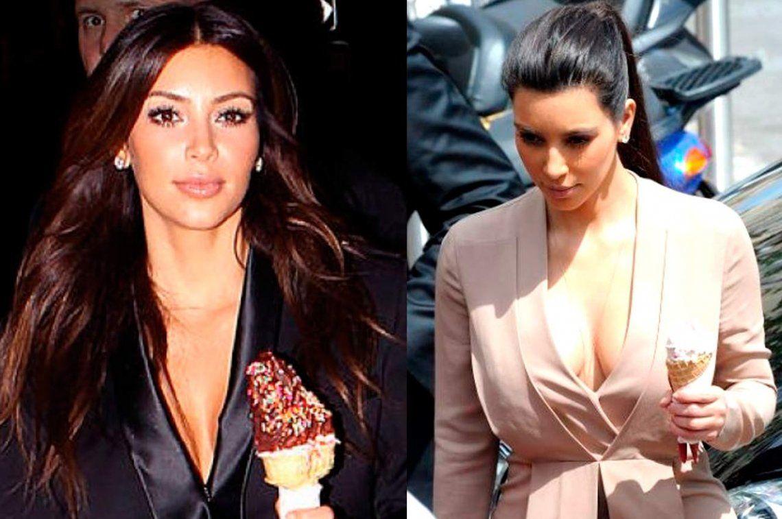 Kim Kardashian, fanática de un manjar argentino
