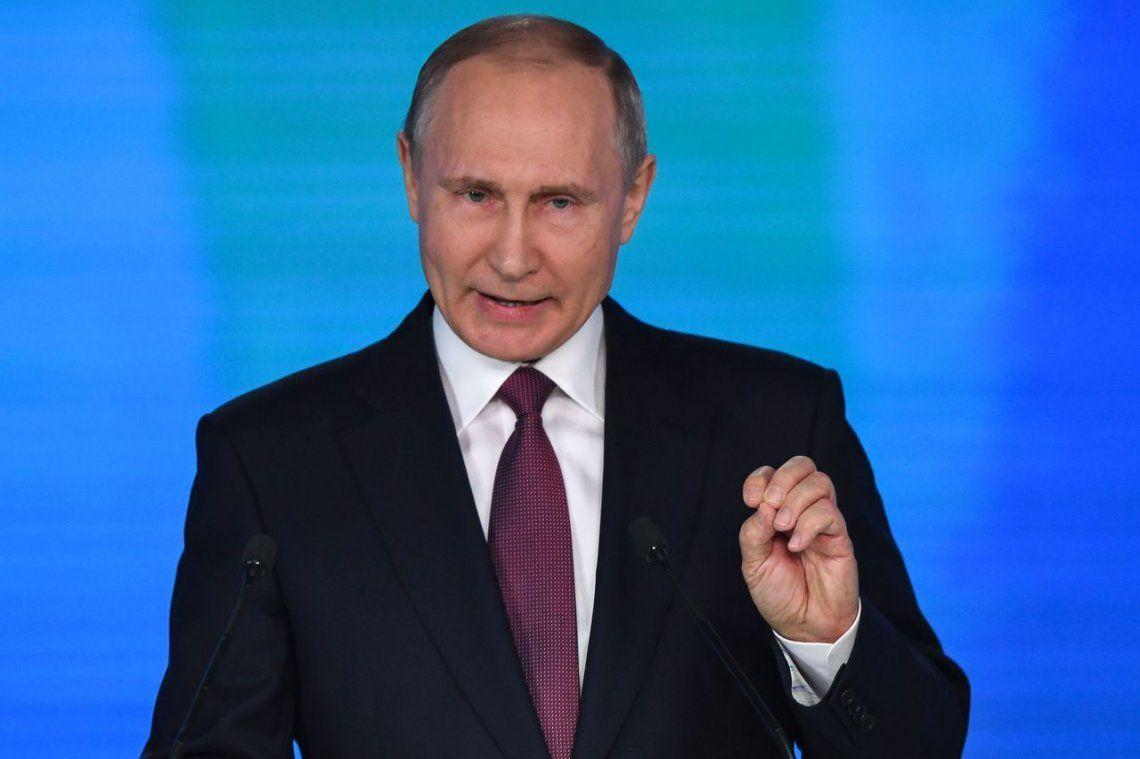 Putin inicia su cuarto mandato presidencial