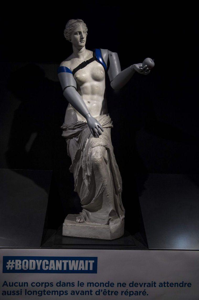 La Venus de Milo recibió brazos en París gracias a impresora 3D
