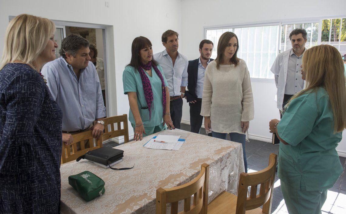 Vidal visitó centro de atención a adicciones