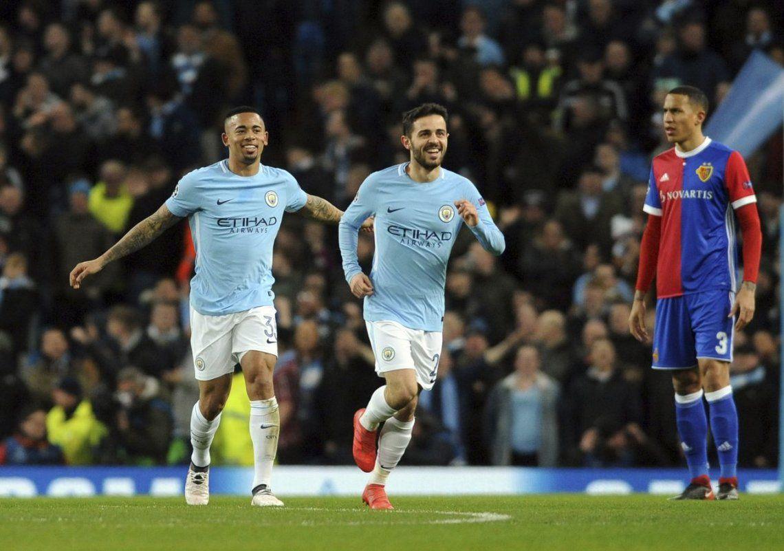 El City de Guardiola y Agüero a cuartos de la Champions