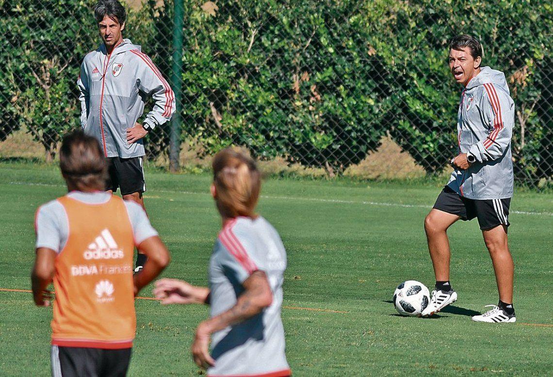 dMarcelo Gallardo espera el repunte de las individualidades porque se viene la gran final con Boca.