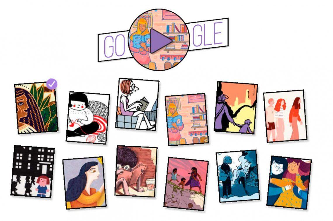 Google celebra el día de la mujer con historias maravillosas