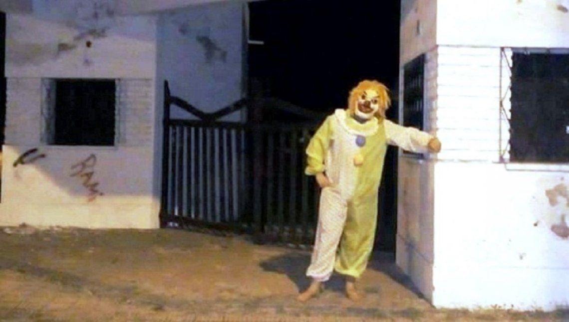 Detuvieron al maldito Payaso Asustador, el It de General Alvear