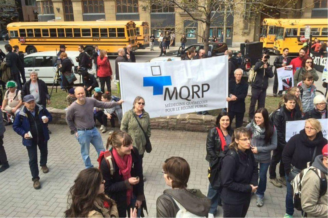 En Canadá médicos protestan porque ganan mucho y los enfermeros poco