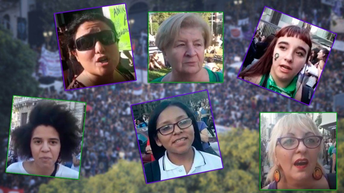 Video | En primera persona: los motivos para asistir a la marcha