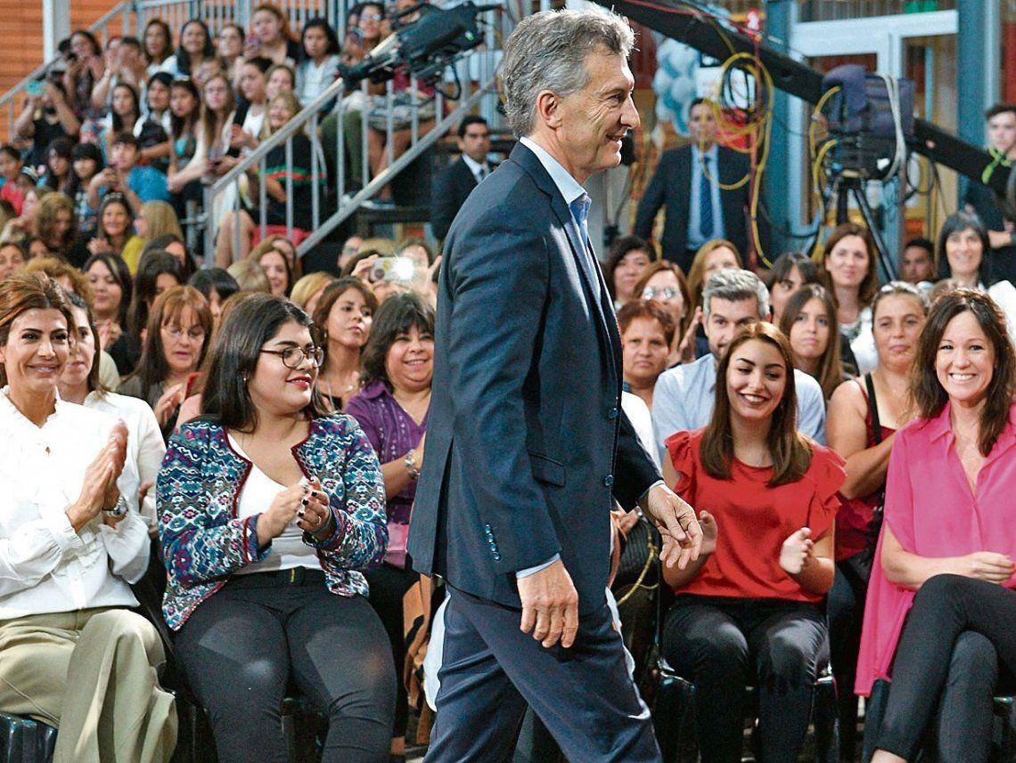 dEl presidente Macri anunció la presentación del proyecto para lograr la igualdad de género.