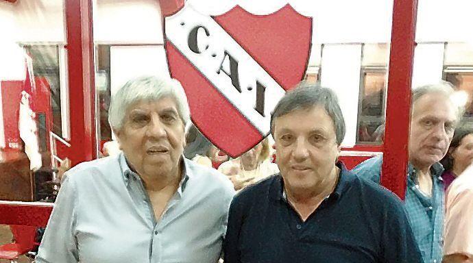 """""""El club está en paz y sin licencias"""", dijo Yoyo Maldonado"""