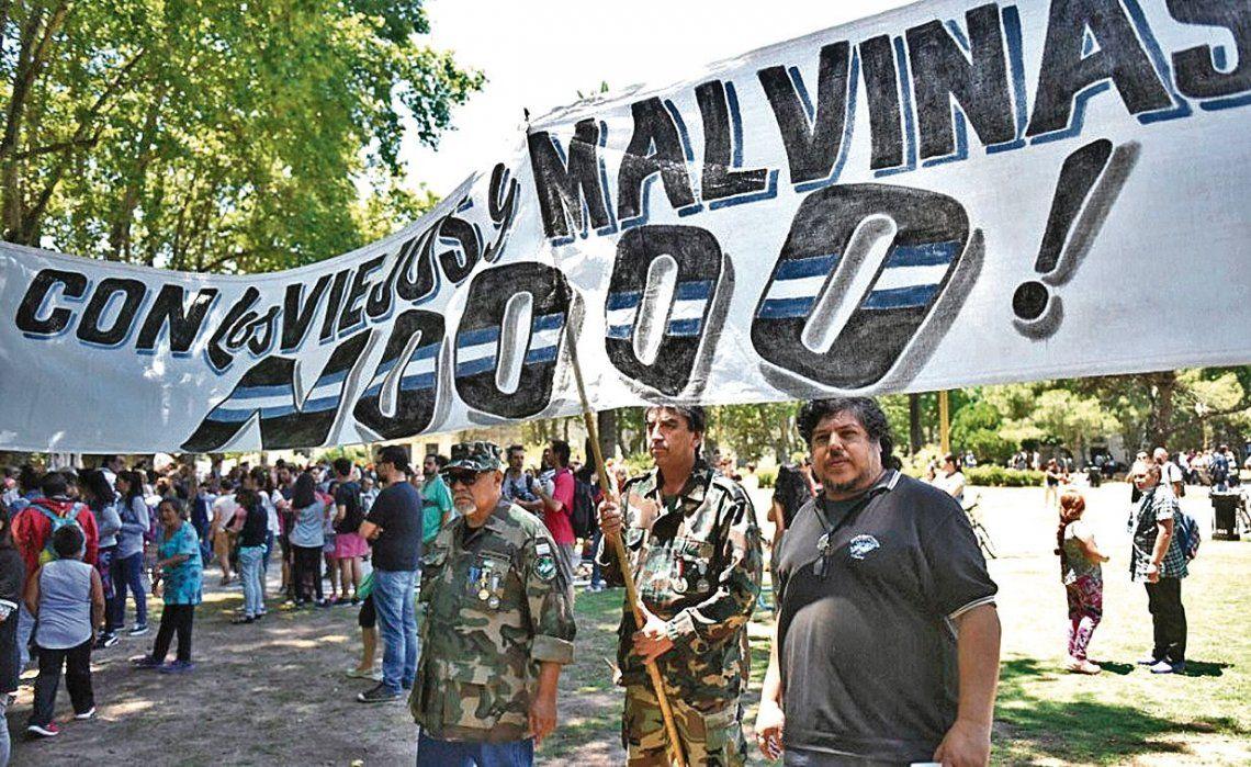 dEx combatientes de Malvinas