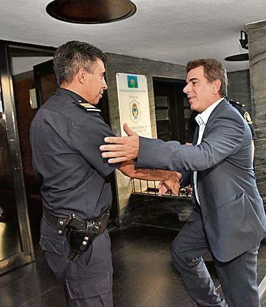 Ritondo visitó Mardel y se reunió con el intendente