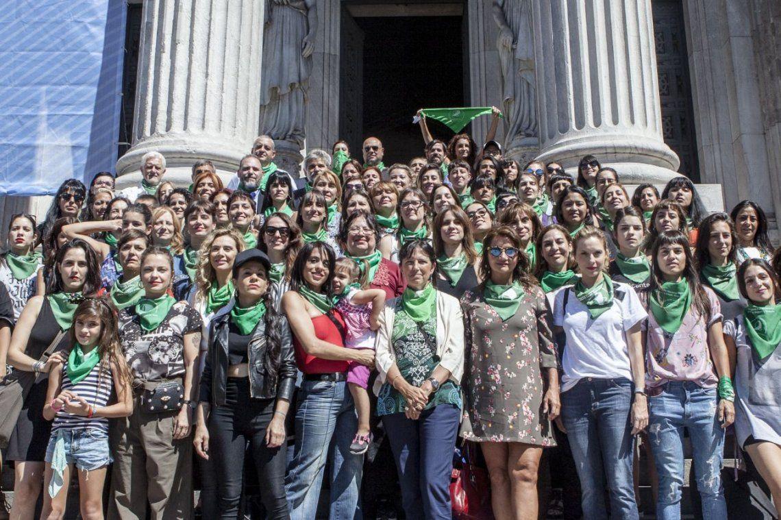 Día de la Mujer: los famosos dieron el presente en la marcha