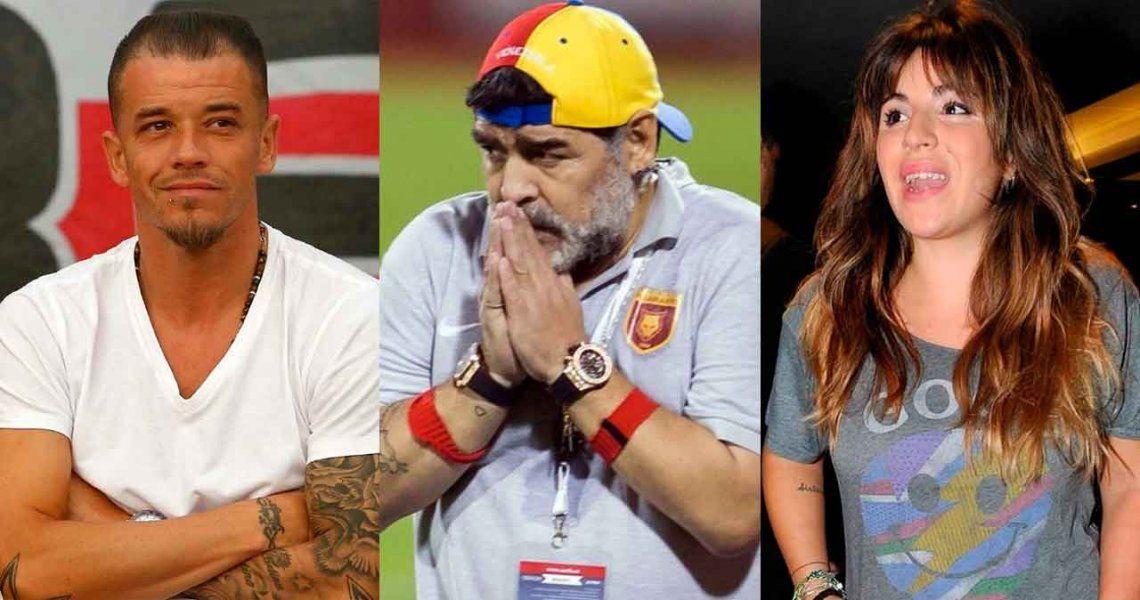 DAlessandro deslizó que Maradona lo dejó sin Mundial por una historia con Gianinna