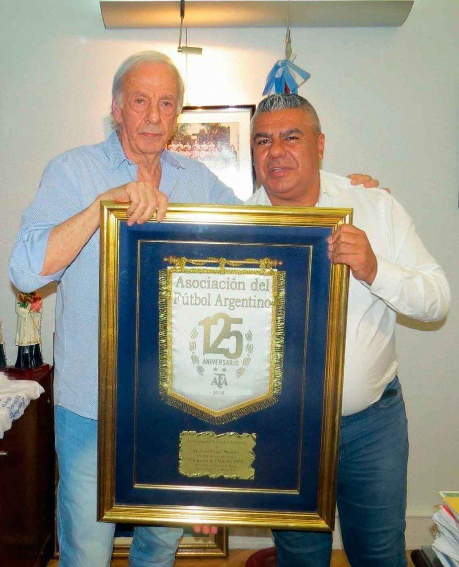 Menotti volvió a la AFA: reconciliación histórica
