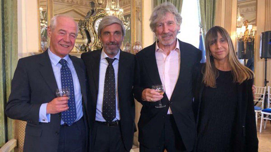 Roger Waters, distinguido por ayudar a identificar a soldados argentinos en Malvinas