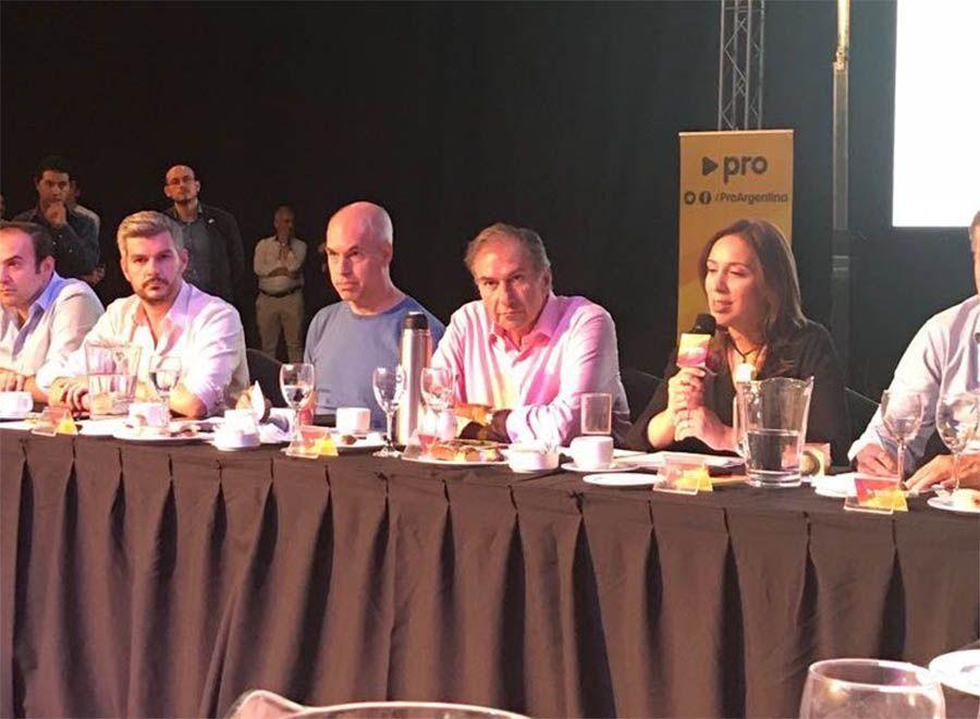 El PRO se reunió para empezar a evaluar la triple reelección de 2019