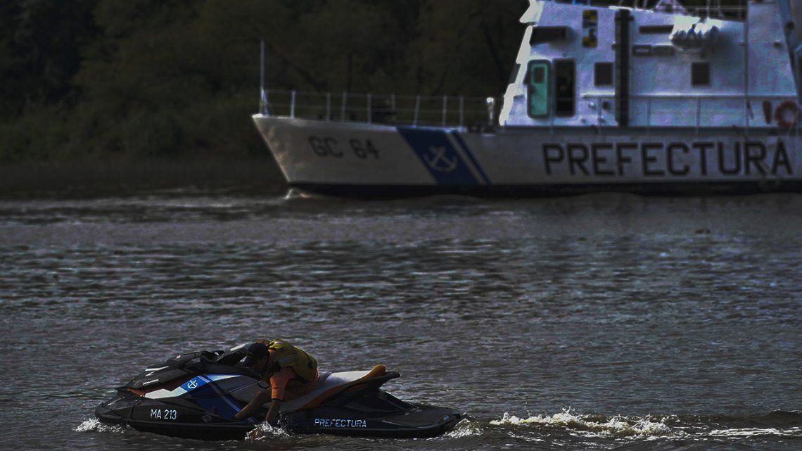 Encontraron el cuerpo sin vida del joven que se tiró al Río Luján durante una fiesta en un barco