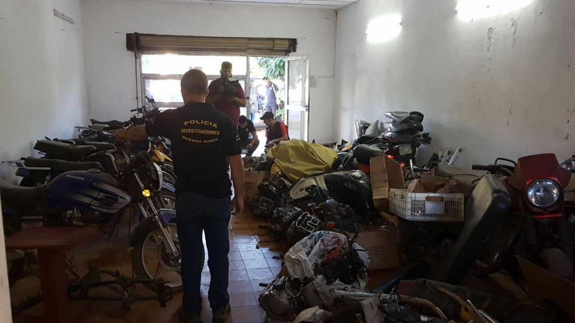 Megaoperativo en zona Sur: 12 detenidos y 1700 autopartes secuestradas