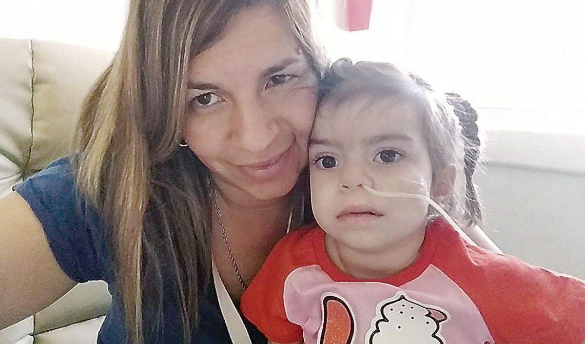 dDelfina se recupera tras haber recibido el imprescindible trasplante de corazón.