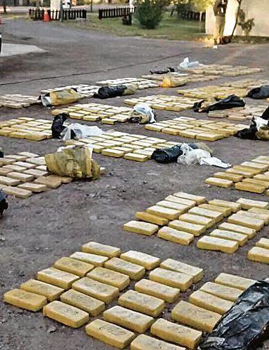 Mil kilos de marihuana a Chile por día