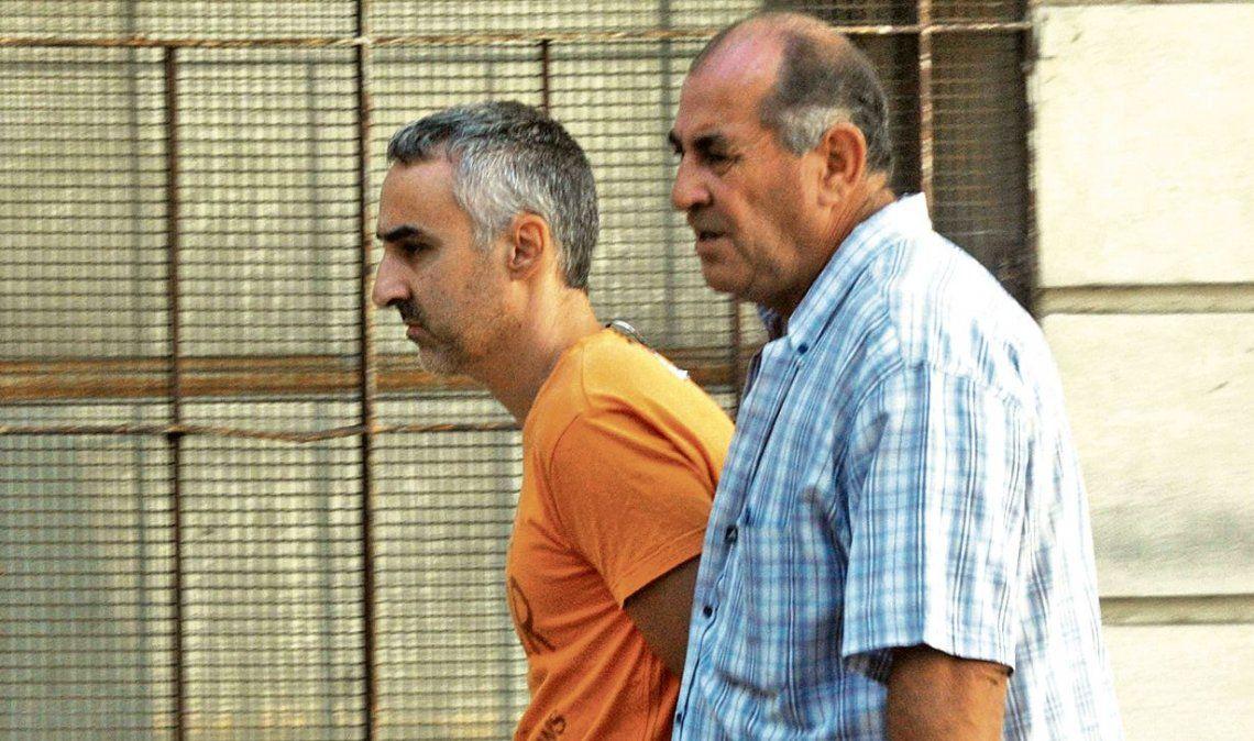 dDiego Villanueva se declaró inocente. En quince días se definirá si le dictan la preventiva junto a su actual pareja.