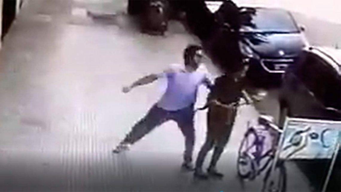 La mujer agredida en Recoleta no reconoció al detenido