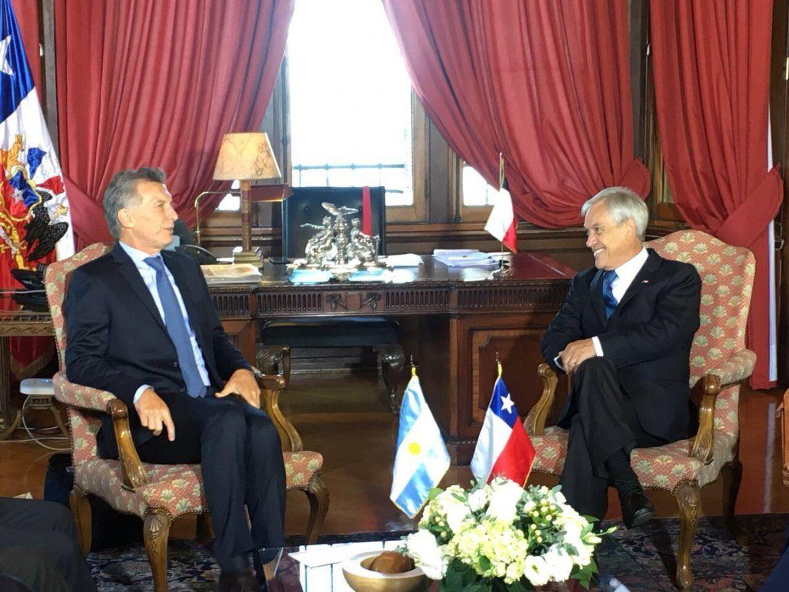 Macri y Piñera se reunieron en Chile en la previa de la asunción