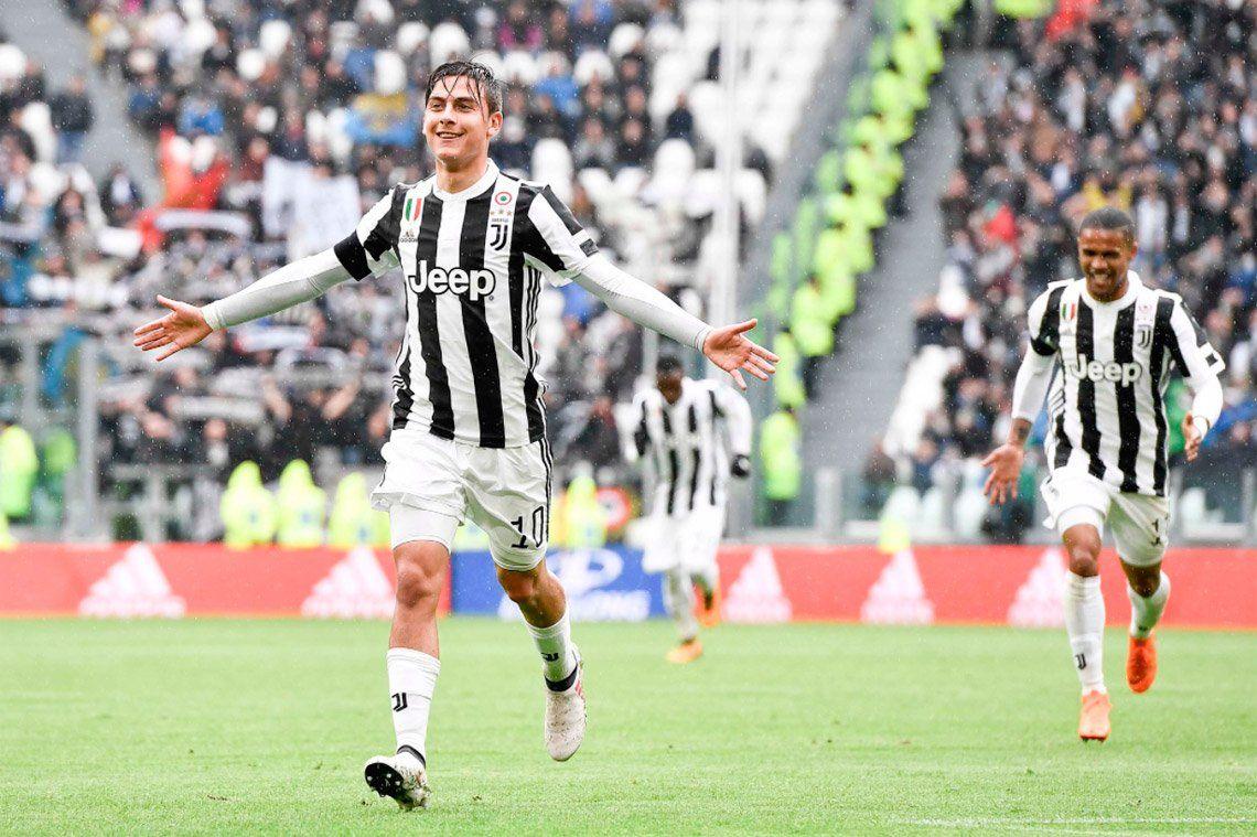 Dybala le dio el triunfo a Juventus y le metió presión a Sampaoli