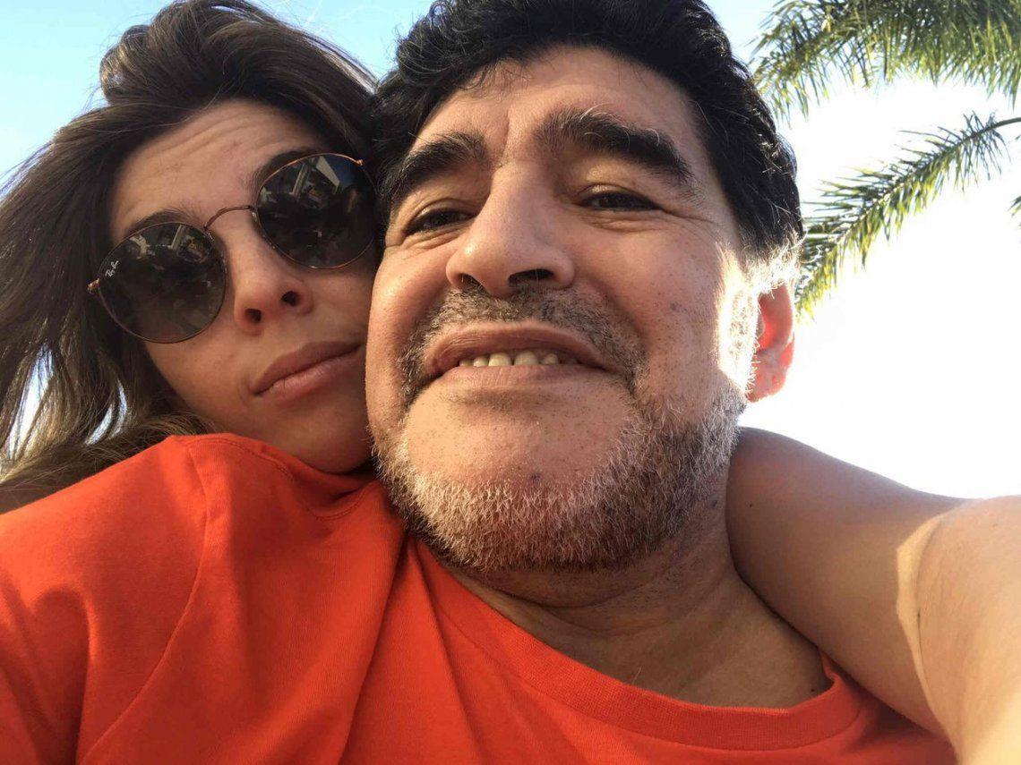 Hoy no es seguro que Diego esté en el casamiento de Dalma