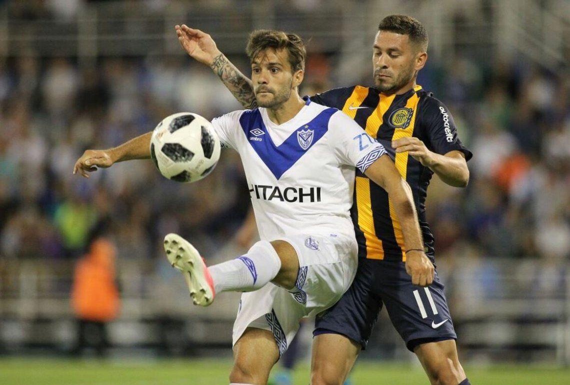 Vélez y Central no se guardaron nada y salió un empate a pura emoción