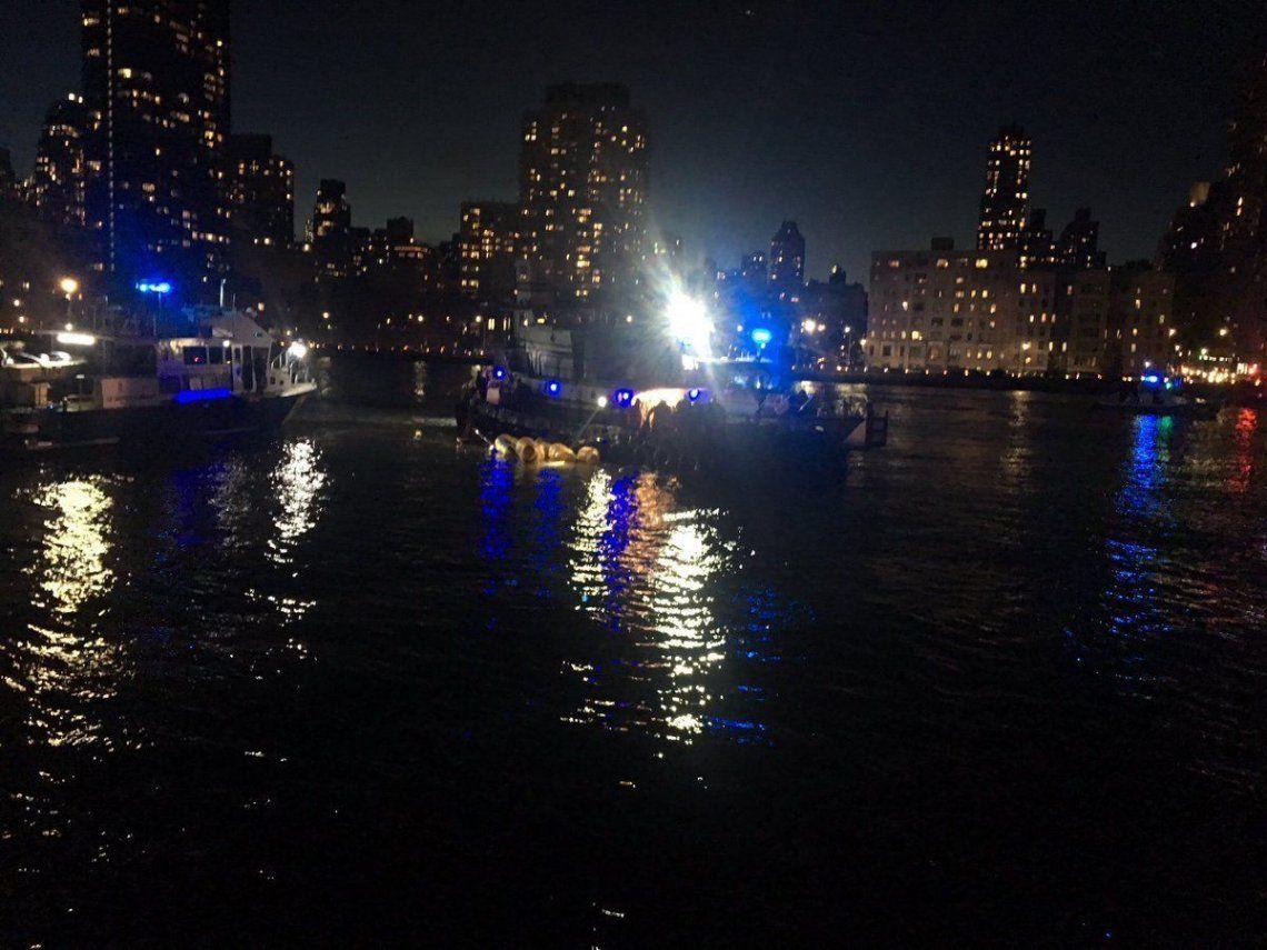 Así cayó el helicóptero donde viajaba la turista correntina