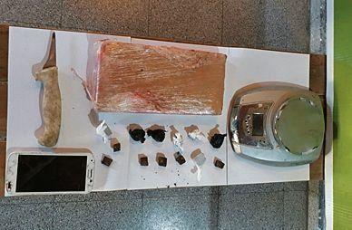 Cuatro detenidos en un búnker de drogas