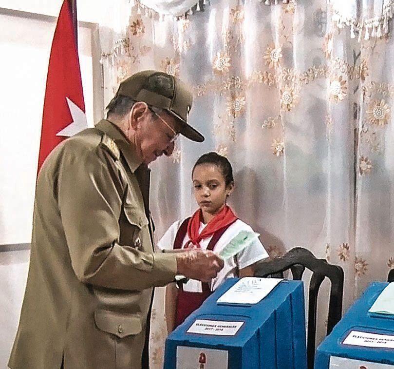 Cuba votó palpitando la sucesión de Raúl Castro