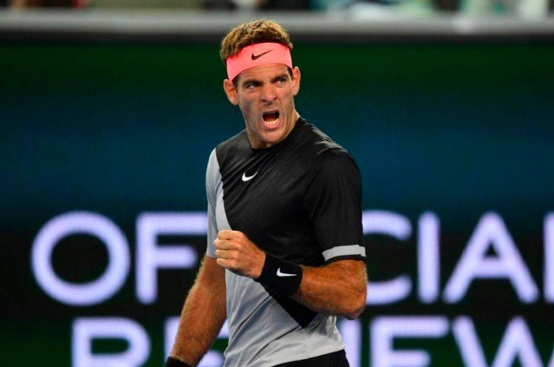 Del Potro y Mayer siguen en Indian Wells