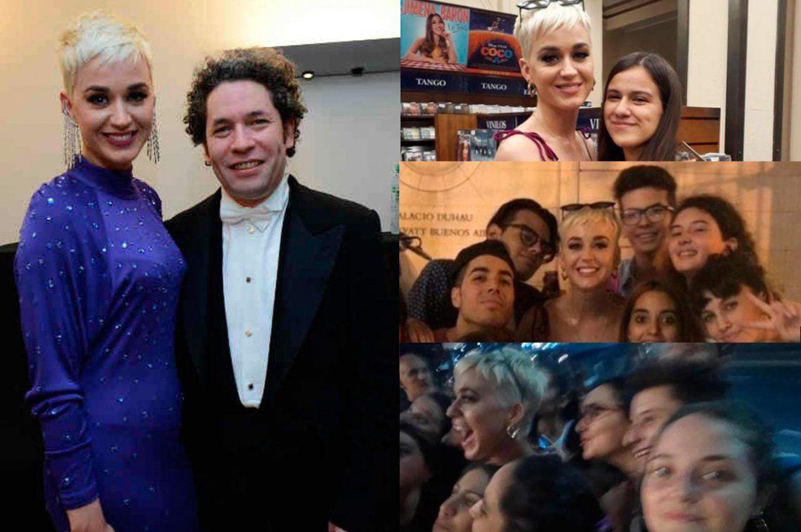 Katy Perry, de ser una porteña más a cumbre con Dudamel en el Colón