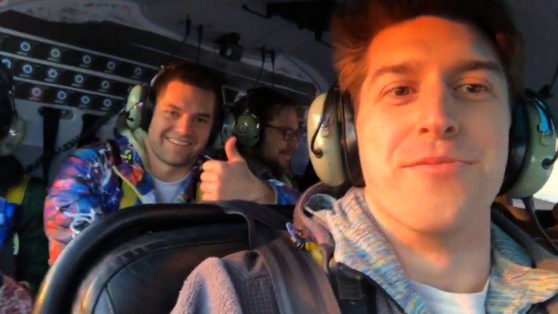 El último video desde adentro del helicóptero que se estrelló en Nueva York