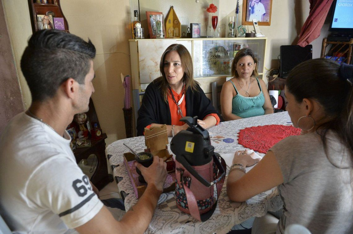 Vidal, junto a vecinos de Berazategui