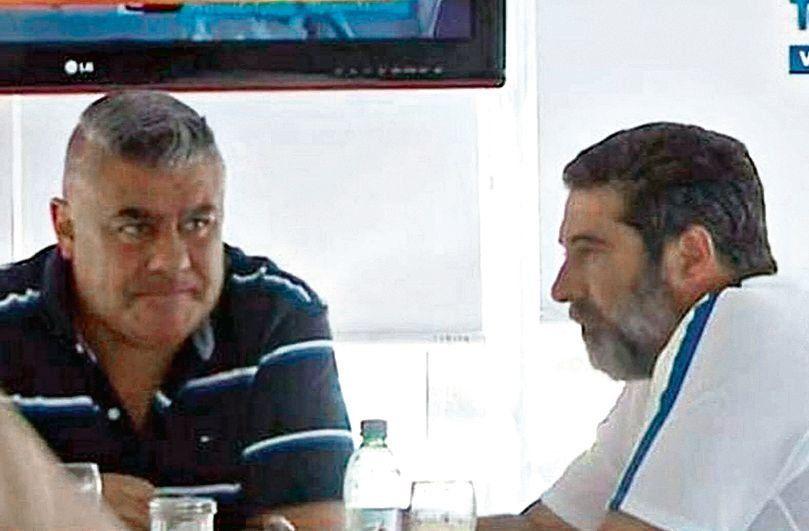 dTapia y Angelici. Una dupla que cayó bajo la crítica de Luis Parietti.