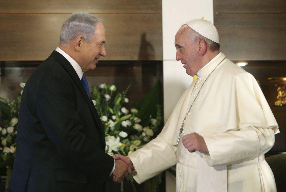 2014 | Visita histórica por tres 3 dias del Papa Francisco a Tierra Santa Israel y Palestina.
