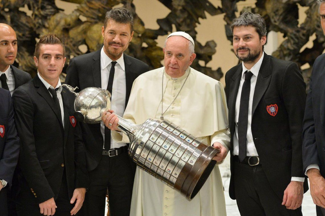 2014 | Francisco y la Copa Libertadores que ganó San Lorenzo.
