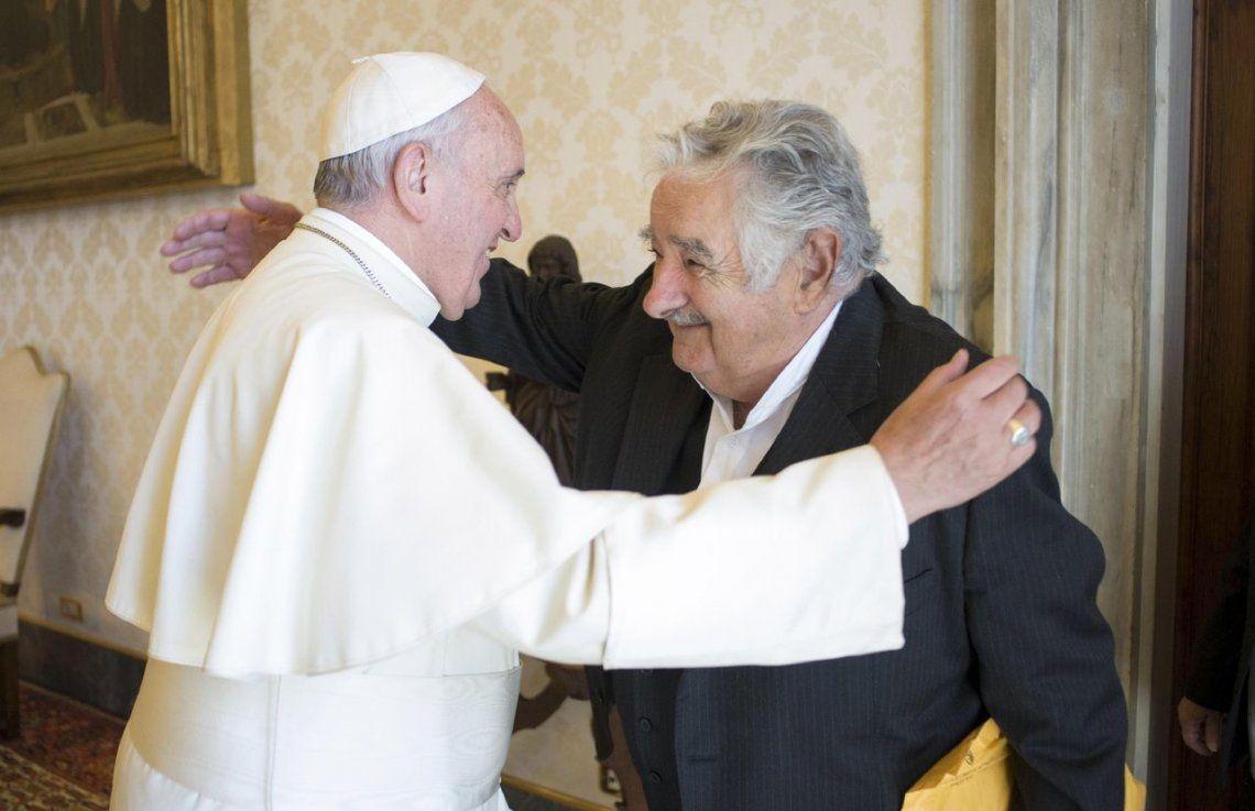 2015 |Papa Francisco y Jose Pepe Mujica